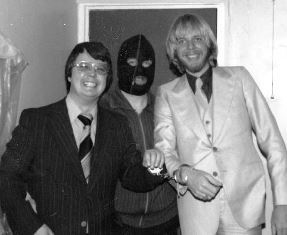 Dan with Mo and Rick Wakeman use