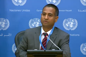 Dr. Ahmed Shaheed UN Special Rapporteur for Iran 11132015