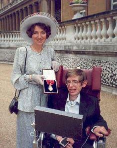 Jane and Stephen at Buckingham Palace