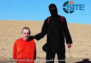 Jihadi John about to kill Alan Henning