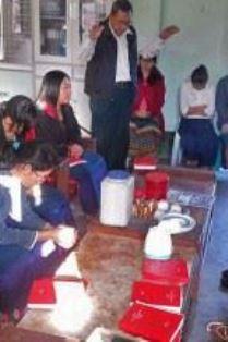 Kachin pastor prays for his flock