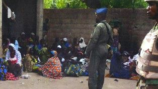 Nigerian army has rescued many from Boko Haram camps