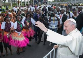 Pope Francis in Africa 11302015