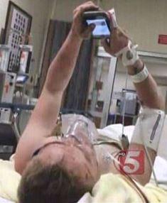 Sam hospitalized Mark Ellis