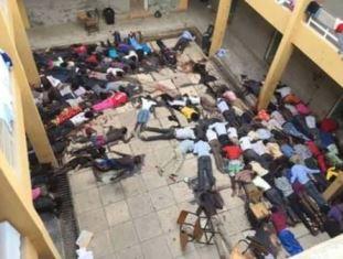 Scene inside Garissa University