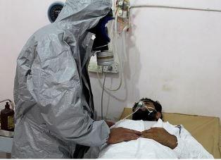 Victim of Mustart gas
