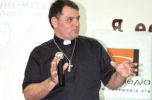 Gennadiy Mokhnenko preaching