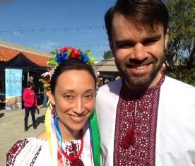 Sharon T. Markey and husband Geroge