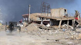 Air strikes on Ramadi