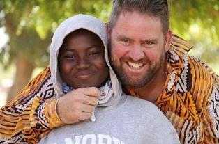 American missionary in Burkino Fasa