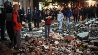Bomb blast in Gizza Egypt