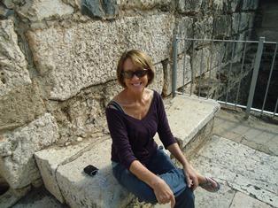 Bonnie Brown in Israel
