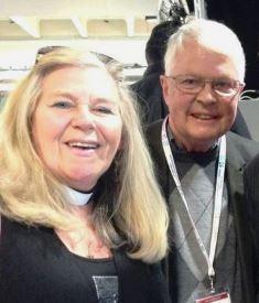 Cindy Kent with Dan Wooding