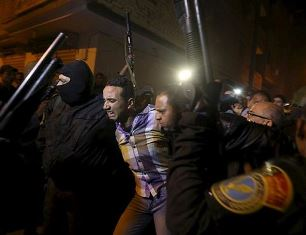 Egypt. Man detained in Giza