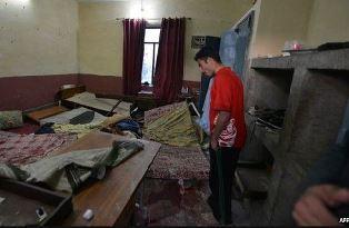 Inside Pakistan university hostel AFP