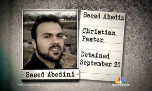 Saeed Abedini NBC picture