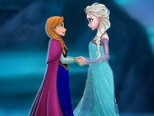Scene from Frozen