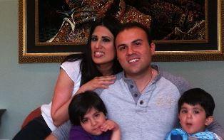 The Abedini family