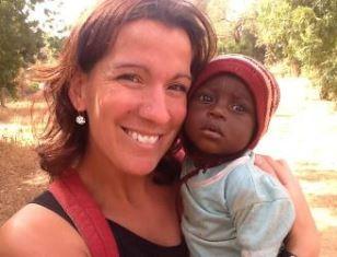 Woman missionary in Burkino Faso