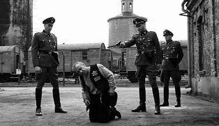 smaller prison shot at Auschwitz