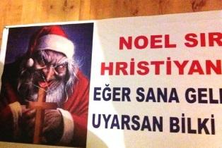 Banner in Turkey