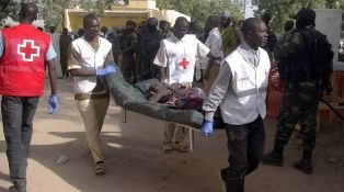 Wounded woman injured in Boko Haram attack