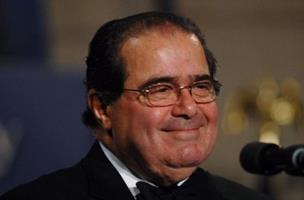 mi Supreme Court Justice Scalia speaks at Federalist Society Gala in Washington