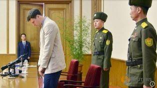 American in N Korea court