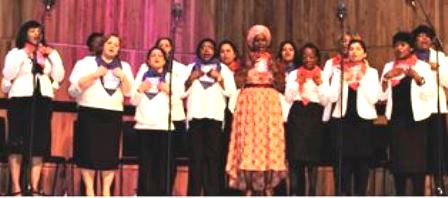 Choir at the Royal Festival Hall Adrian Hawkes