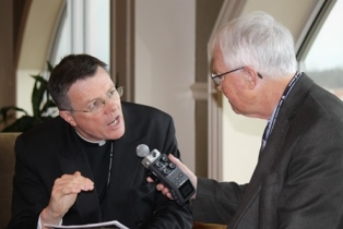 Dan Wooding interviews Fr. Eamon Kelly whose story is featured in the first TBN show