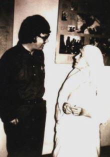 Dan Wooding with Mother Teresa