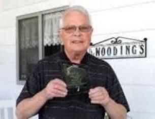 Dan Wooding with his BPCA award use