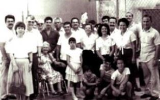 Dan and Norma Wooding with believers in Cuba