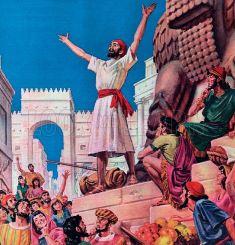 Jonah in Nineveh