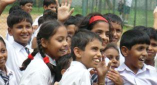 Sri Lankan schoolchildren