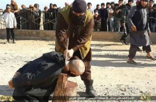 Syrian man beheaded by ISIS