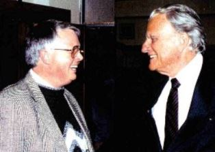 smaller Dan Wooding with Billy Graham