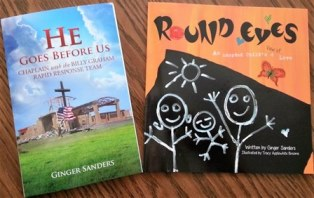 smaller He Goes Before Us new and Round Eyes Books