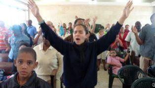 worship in a cuban church