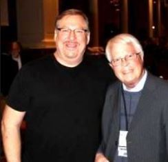 Dan Wooding with Rick Warren