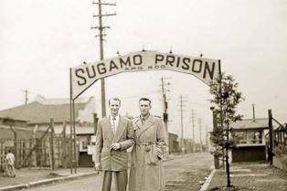 Louis Zamperini visits prison in Japan