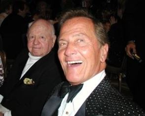 Pat Boone with Mickey Rooney