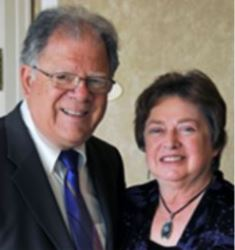 President and Founder of Media Fellowship International with wife Marion