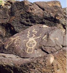 Pueblo Indian rock art