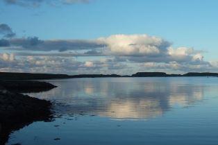 Scottish island Ted Harrison