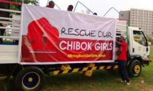 Small Truck for Rescue our Chibok Girls