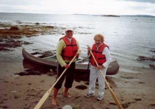 Veronica and Mildren Karaman in Novia Scotia