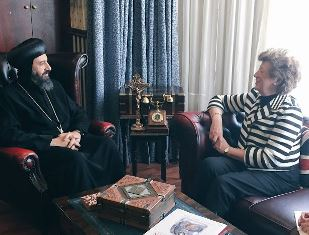 Baroness and UK Coptic leader