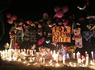 Candles burn for Navajo girl who was killed