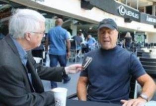 Dan Wooding interviews Greg Laurie at Angel Stadium